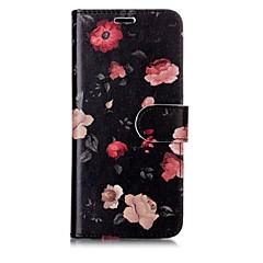 tanie Galaxy S6 Etui / Pokrowce-Kılıf Na Samsung Galaxy S8 Plus S8 Etui na karty Portfel Flip Magnetyczne Wzór Pełne etui Kwiaty Twarde Skóra PU na S8 Plus S8 S7 edge S7