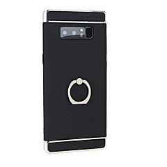 Недорогие Чехлы и кейсы для Galaxy Note 5-Кейс для Назначение Samsung Note 8 / Note 5 со стендом / Кольца-держатели Кейс на заднюю панель Однотонный Твердый ПК для Note 8 / Note 5