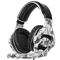 preiswerte Headsets und Kopfhörer-SADES SA-810 Stirnband Mit Kabel Kopfhörer Dynamisch Kunststoff Spielen Kopfhörer Mit Mikrofon Headset