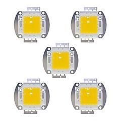 olcso LED-es kiegészítők-5pcs 8000 LED Chip Sárgaréz Izzó tartozék 100 W