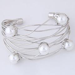 preiswerte Armbänder-Damen Hohl Manschetten-Armbänder Breites Armband - Europäisch, Modisch Armbänder Gold / Silber Für Party