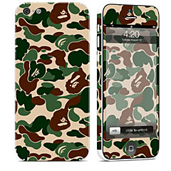 tanie Naklejki na iPhona-1 szt. Naklejka na obudowę na Odporne na zadrapania Moro Wzorki PVC iPhone 5c