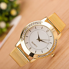 お買い得  大特価腕時計-女性用 クォーツ リストウォッチ 中国 カジュアルウォッチ ステンレス バンド カジュアル ファッション シルバー