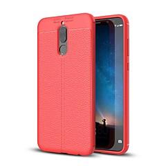 Недорогие Чехлы и кейсы для Huawei Mate-Кейс для Назначение Huawei Mate 10 lite Mate 10 Ультратонкий Кейс на заднюю панель Сплошной цвет Мягкий ТПУ для Mate 10 Mate 10 pro Mate
