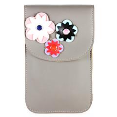 Χαμηλού Κόστους Galaxy S6 Θήκες / Καλύμματα-tok Για Samsung Galaxy S8 Plus S8 Θήκη καρτών Πορτοφόλι Τσαντάκι πουγκί Λουλούδι Μαλακή PU δέρμα για S8 Plus S8 S8 Edge S7 Active S7 edge