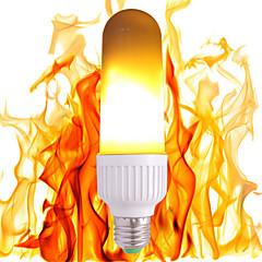 preiswerte LED-Birnen-1pc 3.5W 300lm E26 / E27 LED Kugelbirnen 99 LED-Perlen SMD 2835 Gelb 85-265V