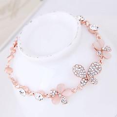 preiswerte Armbänder-Damen Opal Armband - Opal Schmetterling Zierlich, Süß, Modisch Armbänder Gold Für Party