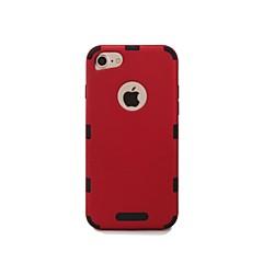 abordables Ahorros Sugerentes-Funda Para Apple iPhone 7 / Funda iPhone 5 Antigolpes Funda Trasera Un Color Dura El plastico para iPhone 7 / iPhone 5