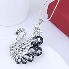 preiswerte Halsketten-Damen Lang Anhängerketten - Schwan Europäisch, Modisch Dunkelblau, Grau Modische Halsketten Schmuck Für Party