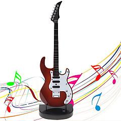 billige Music Box-Spilledåse Mini Guitar Legetøjsinstrumenter Guitar Lyd Børne 1pcs
