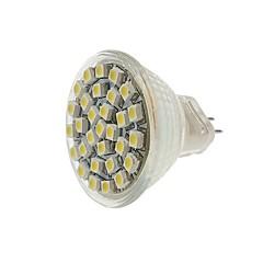 cheap LED Bulbs-SENCART 1pc 2W 140-180 lm MR11 LED Spotlight MR11 30 leds SMD 3528 Decorative Warm White Cold White Yellow DC 12V