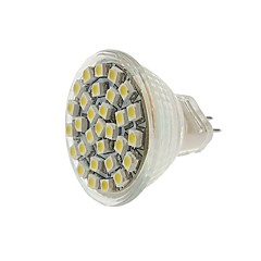 economico Lampadine LED-SENCART 1pc 2W 140-180 lm MR11 Faretti LED MR11 30 leds SMD 3528 Decorativo Bianco caldo Luce fredda Giallo CC 12V