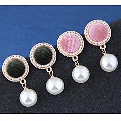 preiswerte Ohrringe-Damen Tropfen-Ohrringe - Europäisch, Süß, Modisch Rosa / Dunkelgrün Für Normal
