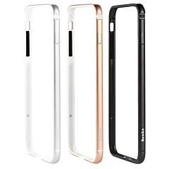 Недорогие Кейсы для iPhone-Кейс для Назначение Apple iPhone 8 / iPhone 8 Plus Защита от удара Бампер Однотонный Твердый Металл для iPhone 8 Pluss / iPhone 8 / iPhone 7 Plus