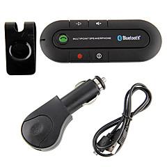 Недорогие Bluetooth гарнитуры для авто-беспроводной громкой связи Bluetooth автомобильный комплект автомобиля v4.0 солнцезащитный козырек стиль