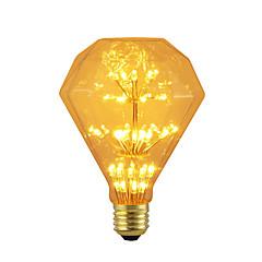 preiswerte LED-Birnen-BRELONG® 1pc 3W 300lm E26 / E27 LED Kugelbirnen 47 LED-Perlen SMD sternenklar Dekorativ Gelb 220-240V