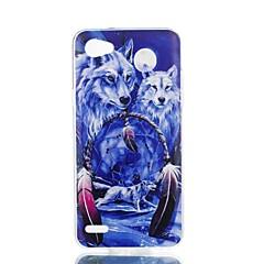 Недорогие Чехлы и кейсы для LG-Кейс для Назначение LG V30 Q6 С узором Кейс на заднюю панель Животное Мягкий ТПУ для LG X Style LG X Power LG V30 LG Q6 LG K10 LG K8
