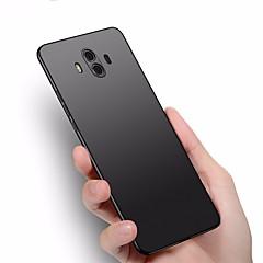 Недорогие Чехлы и кейсы для Huawei Mate-Кейс для Назначение Huawei Mate 10 pro Mate 10 lite Ультратонкий Кейс на заднюю панель Сплошной цвет Твердый пластик для Mate 10 Mate 10