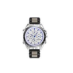 preiswerte Armbanduhren für Paare-Damen Paar Armbanduhren für den Alltag Sportuhr Modeuhr Quartz Armbanduhren für den Alltag Silikon Band Analog Luxus Freizeit Schwarz - Weiß Grau Rot