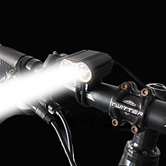 abordables Eclairage de bicyclette-Lampe Avant de Vélo LED LED Cyclisme Facile à Installer Batterie rechargeable 1600 Lumens Piles/Batteries Rechargeables Blanc