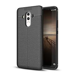 Недорогие Чехлы и кейсы для Huawei Mate-Кейс для Назначение Huawei Mate 10 pro Mate 10 lite Защита от удара Кейс на заднюю панель Полосы / волосы Мягкий ТПУ для Mate 10 Mate 10