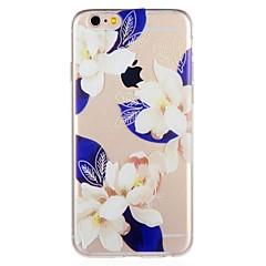 Недорогие Кейсы для iPhone 6 Plus-Кейс для Назначение Apple iPhone 8 / iPhone 7 С узором Кейс на заднюю панель Цветы Мягкий ТПУ для iPhone 8 Pluss / iPhone 8 / iPhone 7 Plus