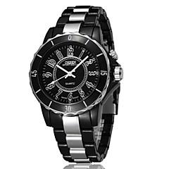preiswerte Armbanduhren für Paare-OHSEN Damen Paar Quartz Kleideruhr Modeuhr Armbanduhren für den Alltag Chinesisch Wasserdicht Armbanduhren für den Alltag Legierung Band