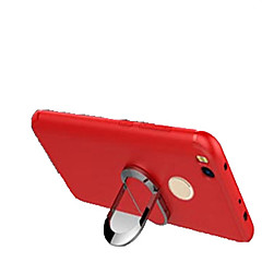 Недорогие Чехлы и кейсы для Xiaomi-Кейс для Назначение Xiaomi Redmi 4X Защита от удара со стендом Кейс на заднюю панель Сплошной цвет Мягкий Силикон для Xiaomi Redmi 4X