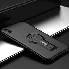 お買い得  iPhone 5S/SE ケース-ケース 用途 Apple iPhone 7 Plus iPhone 7 耐衝撃 スタンド付き バックカバー 純色 ソフト シリコーン のために iPhone 8 Plus iPhone 8 iPhone SE/5s