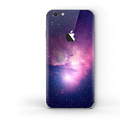 abordables Adhesivos Skin para iPhone-1 pieza Adhesivo para Anti-Arañazos Cielo Diseño PVC iPhone 6s Plus/6 Plus