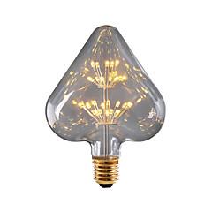 preiswerte LED-Birnen-BRELONG® 1pc 3W 300lm E26 / E27 LED Kugelbirnen 30 LED-Perlen SMD sternenklar Dekorativ Gelb 220-240V