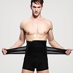 abordables Accesorios para Fitness-Cinturón Lumbar / Faja Con 1 pcs Chinlon Elástico, Transpirable Entrenador por Hombre Casual / Ejercicio y Fitness / Patinaje en Hielo Deporte
