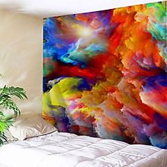 abordables Art mural-Architecture Décoration murale Polyester Rétro Art mural, Tapisseries murales Décoration