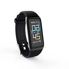 cheap Smart Electronics-BY1 Smart Bracelet Smartwatch Android iOS Bluetooth Smart Case UV Light 400°F Maximum Temperatur Easy dressing Pedometer / Heart Rate Sensor
