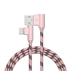 cheap -Type-C USB Cable Adapter Quick Charge Cable For Samsung Huawei LG Nokia Lenovo Xiaomi Motorola HTC Sony 200cm Aluminum Nylon