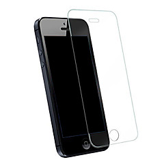 abordables Protectores de Pantalla para iPhone SE/5s/5c/5-Protector de pantalla para Apple iPhone SE / 5s / iPhone 5 Vidrio Templado 1 pieza Protector de Pantalla Frontal A prueba de explosión