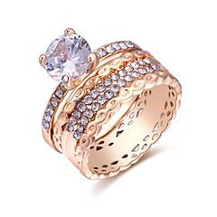 preiswerte Ringe-Damen Knöchel-Ring / Multi-Finger-Ring - Kupfer Europäisch, Modisch 7 Gold Für Alltag