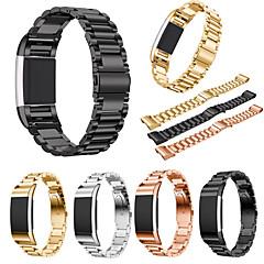 billige -Urrem for Fitbit Charge 2 Fitbit Sportsrem Rustfrit stål Håndledsrem