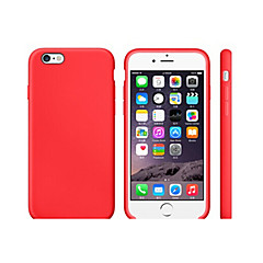 tanie Etui do iPhone 5-Kılıf Na Apple iPhone 8 iPhone 8 Plus Odporne na wstrząsy Ultra cienkie Czarne etui Solid Color Miękkie TPU na iPhone 8 Plus iPhone 8