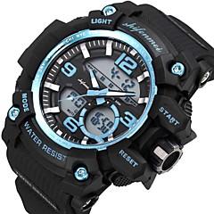 お買い得  メンズ腕時計-SHIFENMEI 男性用 スポーツウォッチ 日本産 カレンダー / カジュアルウォッチ / 大きめ文字盤 Plastic バンド ぜいたく / ファッション ブラック / Maxell2025