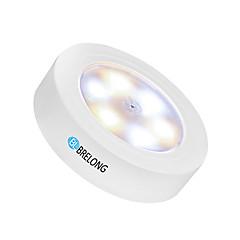 お買い得  LED アイデアライト-BRELONG® 1個 LEDナイトライト 暖かい白+白 USB タッチセンサ 車に最適 <5V