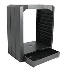 お買い得  ビデオゲーム用アクセサリー-Storage Box ワイヤレス カード収納ボックス 用途 PS4,ABS カード収納ボックス パータブル