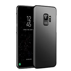 Χαμηλού Κόστους Galaxy S6 Θήκες / Καλύμματα-tok Για Samsung Galaxy S9 S9 Plus Παγωμένη Πίσω Κάλυμμα Μονόχρωμο Σκληρή PC για S9 Plus S9 S8 Plus S8 S7 edge S7 S6 edge plus S6 edge S6