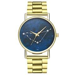Χαμηλού Κόστους Ατσάλινο μπρασελέ για ρολόγια-Ανδρικά Κινέζικα Χρονογράφος / Δημιουργικό / Μεγάλο καντράν Ανοξείδωτο Ατσάλι Μπάντα Βίντατζ Χρυσό