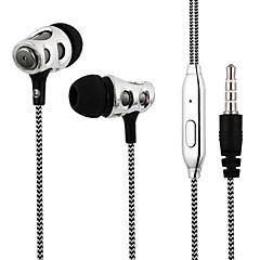preiswerte Headsets und Kopfhörer-ls3b141a stereo musik kopfhörer 3,5mm in ohr mic universal sport für ip sams xiaomi android handys musik player