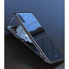 Недорогие Кейсы для iPhone X-Кейс для Назначение Apple iPhone X / iPhone 8 / iPhone 8 Plus Защита от удара / Магнитный Кейс на заднюю панель Однотонный Твердый