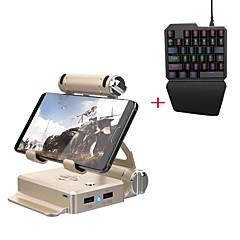 abordables Accesorios para Juegos de Smartphone-El convertidor inalámbrico de teclado y ratón gamesir representa el teléfono inteligente, es compatible con Fortnite, el teclado portátil Bluetooth y el convertidor del mouse son de 2 unidades de meta