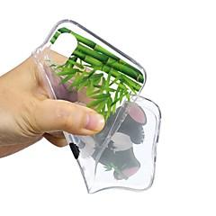 Недорогие Кейсы для iPhone 7-Кейс для Назначение Apple iPhone X / iPhone 8 С узором Кейс на заднюю панель Панда Мягкий ТПУ для iPhone 8 Pluss / iPhone 7 Plus / iPhone