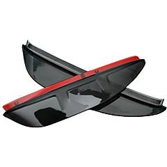 お買い得  カーデコレーション-2pcs 車 車の雨の眉 ビジネス ペーストタイプ のために バックミラー 用途 ホンダ アコード8 全年式