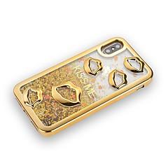 Недорогие Кейсы для iPhone 6 Plus-Кейс для Назначение Apple iPhone X / iPhone 8 Plus Покрытие / Движущаяся жидкость / Сияние и блеск Кейс на заднюю панель Сияние и блеск